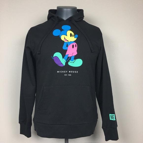 ec2660b9779f NEW NEFF Disney Mickey Mouse Hoodie Glow Pastel